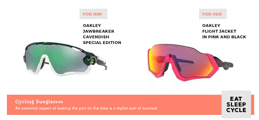 Oakleys Cycling Sunglasses - Valentine's Day Presents for Cyclists