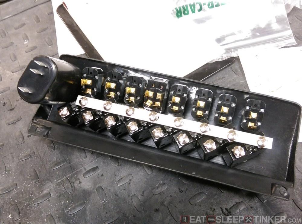 medium resolution of backside of switch panel in progress