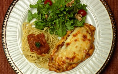 Smokey Chicken Parmesan