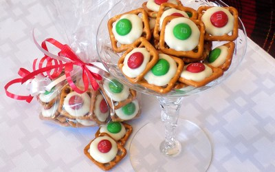 Festive Holiday Pretzels