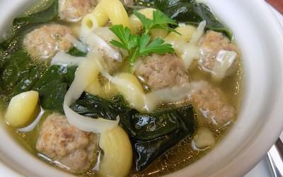 Nonna's Meatball Soup