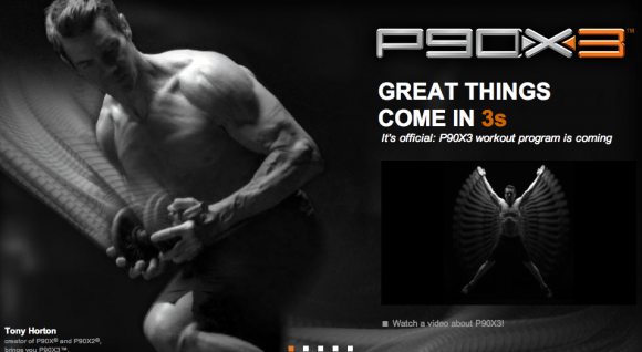 Another P90X3 Sneak Peak