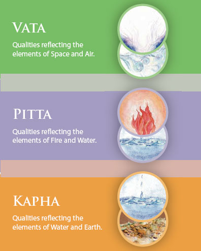 Image result for Prakriti(Vata, Pitta and Kapha)
