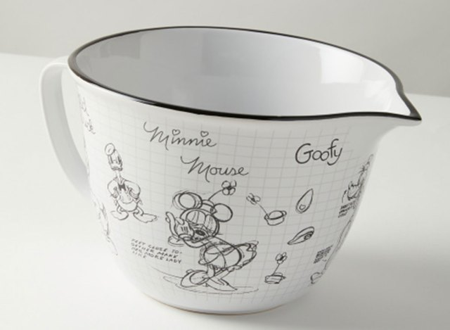 disney mickey mouse ceramic mixing bowl