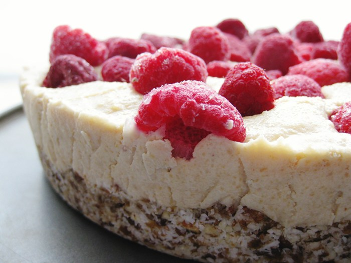 raw vegan cheesecake