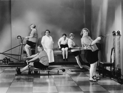 getting fit in the 1920;s