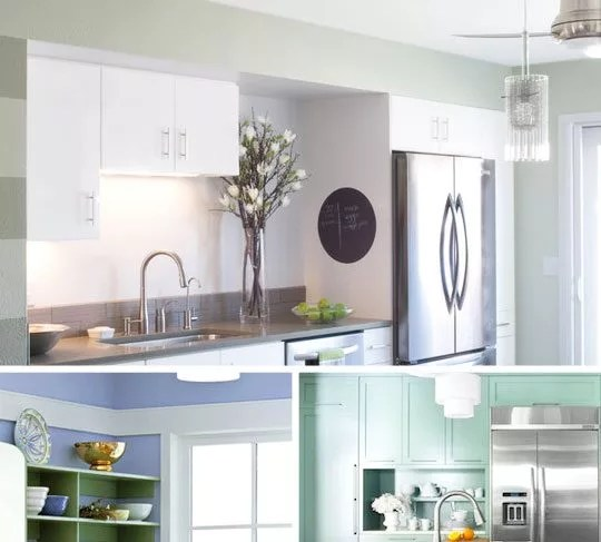 Best Colors For A Small Kitchen — Painting A Small Kitchen — Eatwell101