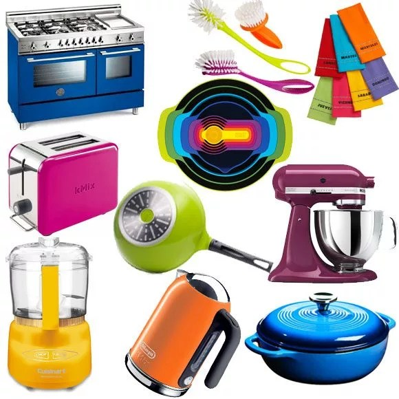 colored kitchen appliances countertop options colorful accessories eatwell101 photos