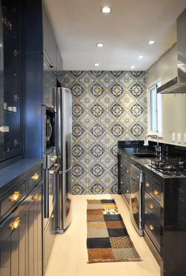 kitchen walls narrow islands decorating ideas for eatwell101 tiles picture