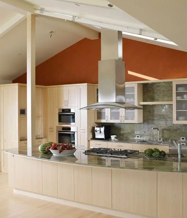 Orange Kitchen Walls Accents Eatwell 101