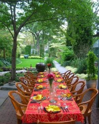Summer Table Decorating Ideas  Eatwell101