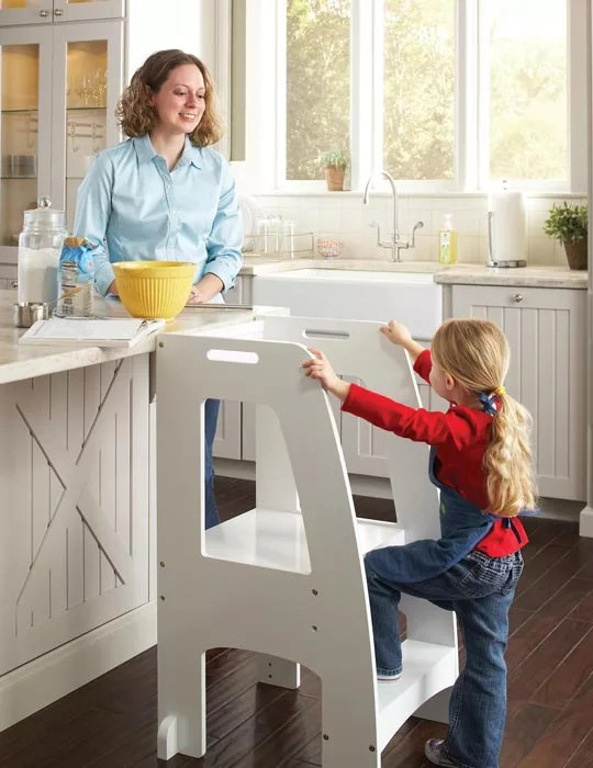Kitchen Helper Stools for Kids  Eatwell101