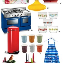 Colorful Kitchen Accessories Corian Countertops 10 You D Love To Have Eatwell101 Shopping Guide
