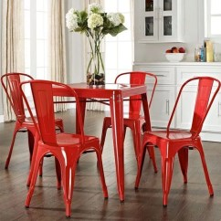 Small Dining Chairs Big And Tall Leather Desk Gorgeous Red Eatwell101 Set