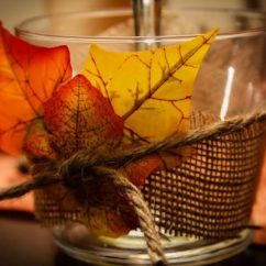 Kitchen Table With Leaf Cabinets Houston Area Diy Candle Holders For Fall — Eatwell101