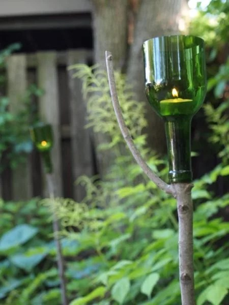 9 Amazing Things To Do With Wine Bottles In The Garden