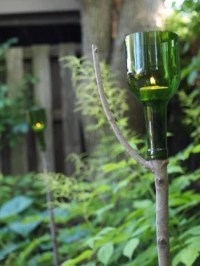 9 Amazing Things To Do With Wine Bottles In The Garden ...