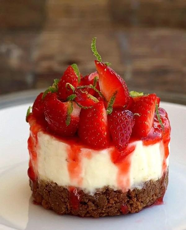 Reeses Bake Mini No Bottom Cheesecakes