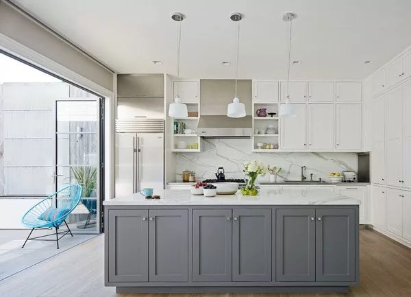 grey kitchen island small storage 13 of the most beautiful kitchens we ve ever seen eatwell101 san francisco