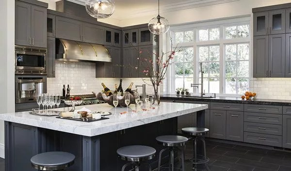 13 Of The Most Beautiful Grey Kitchens Weve Ever Seen Eatwell101