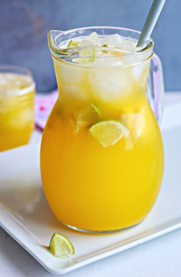 Pineapple Lemonade Cooler Recipe Eatwell101