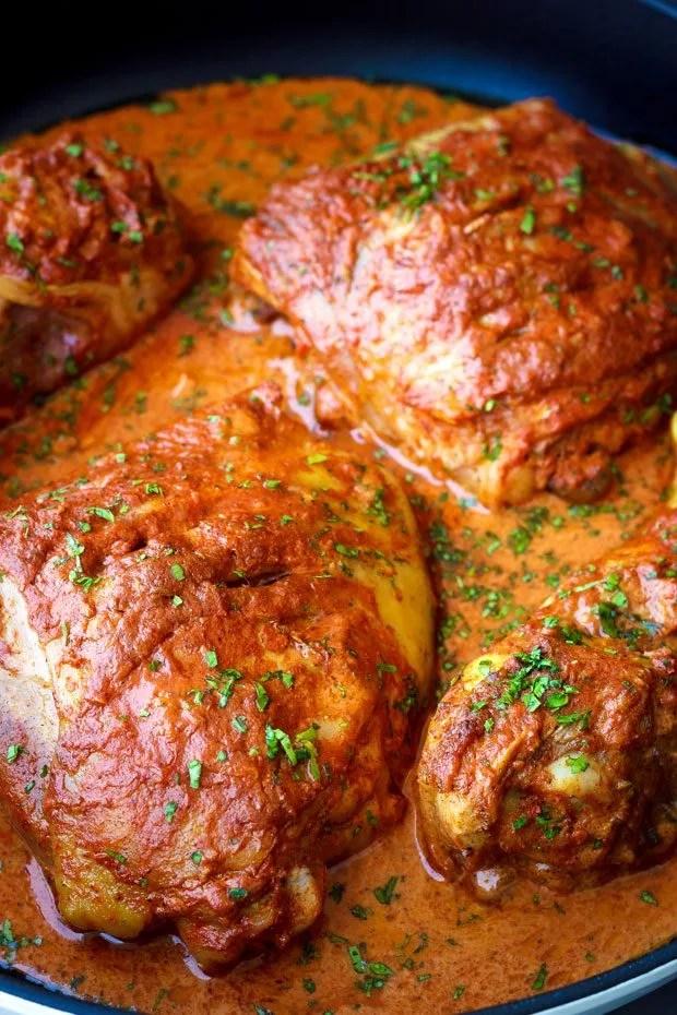 Baked Tandoori Chicken Recipe — Eatwell101