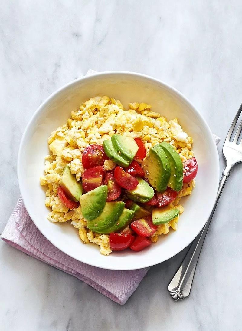 Avocado Breakfast Scramble Recipe  Eatwell101