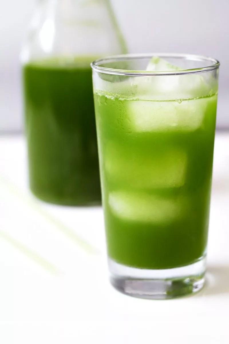 Iced Kale Pineapple Juice Recipe  Eatwell101
