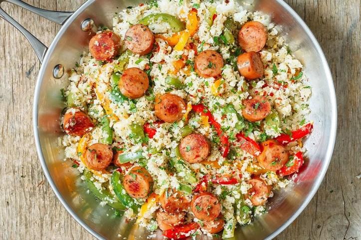 cauliflower rice paleo - #recipe by #eatwell101