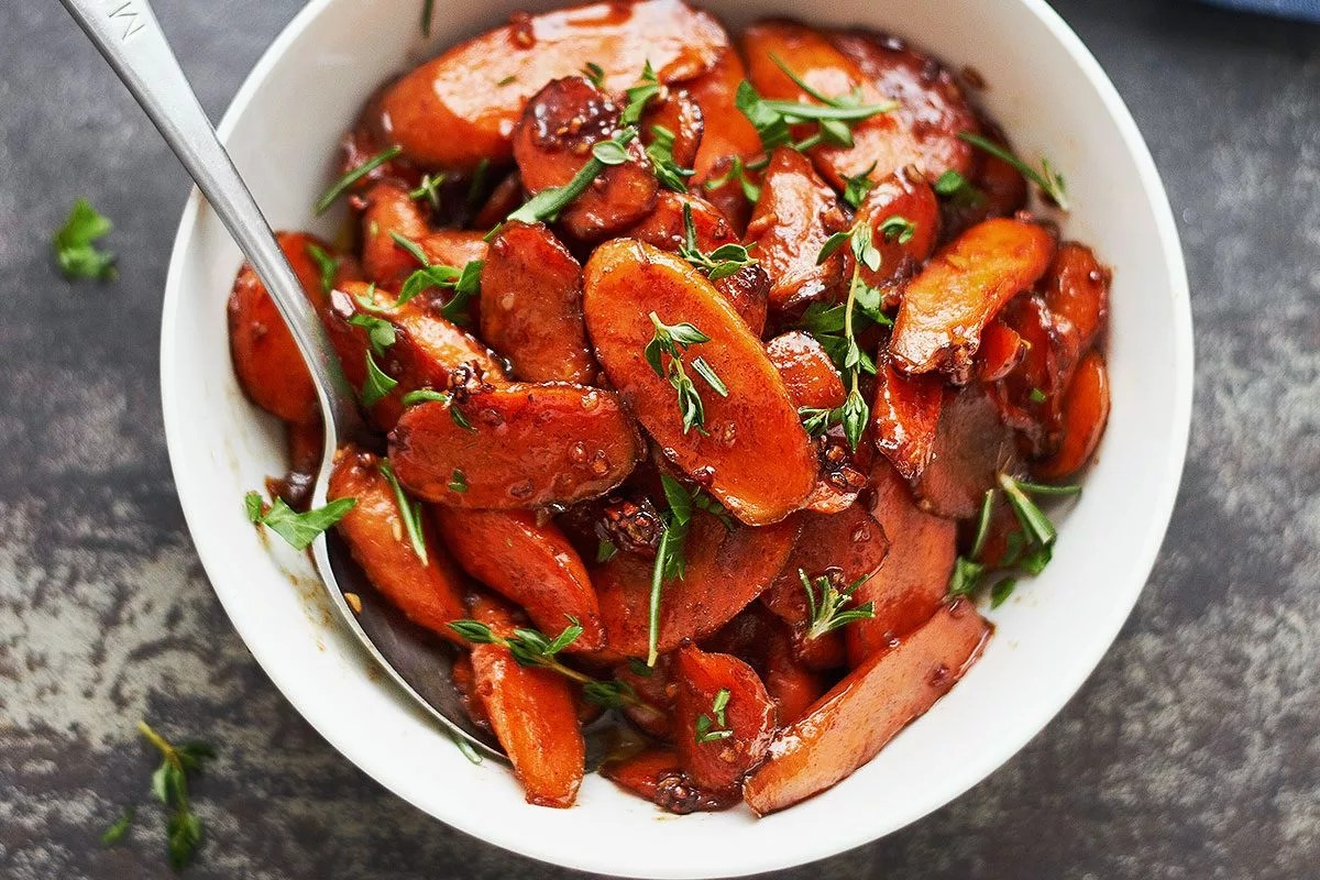 Honey Glazed Carrots Recipe With Cinnamon Eatwell101