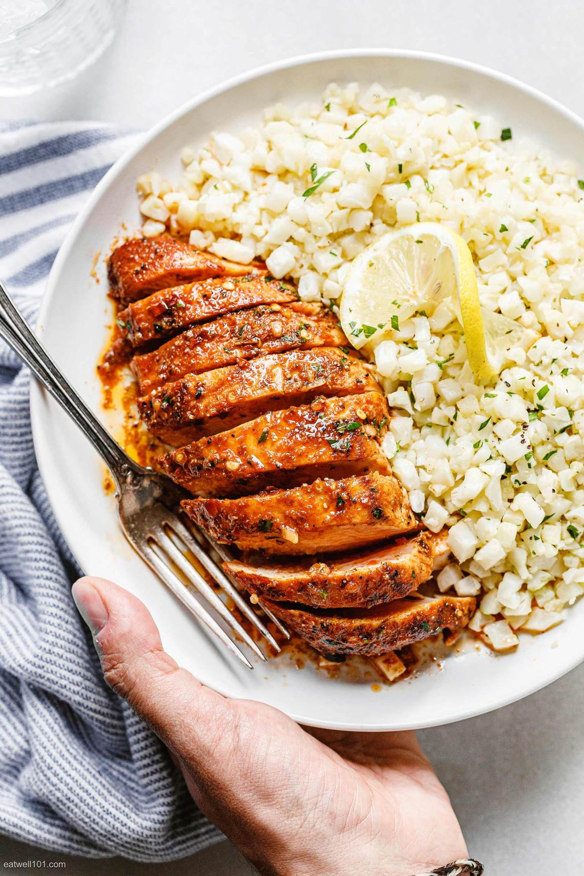 Oven-Baked Chicken Breasts Recipe with Garlic Butter Sauce ...