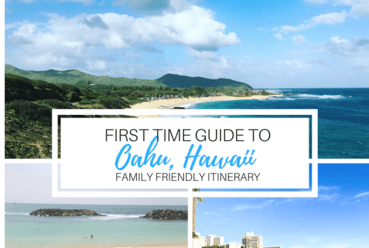 OAHU, HAWAII FIRST TIME FAMILY GUIDE WITH KIDS