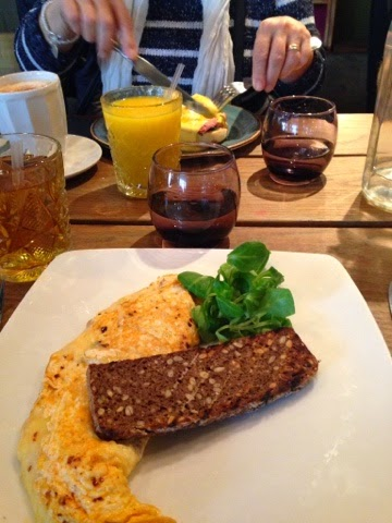 Brunch at The Folly, London