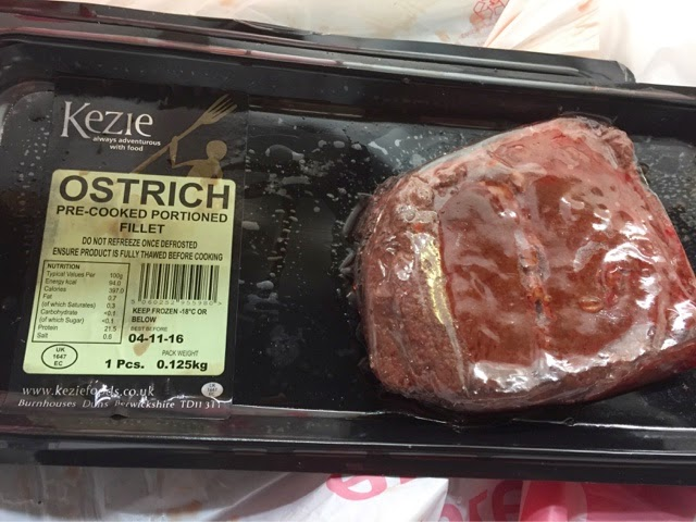 Ostrich fillets from Iceland