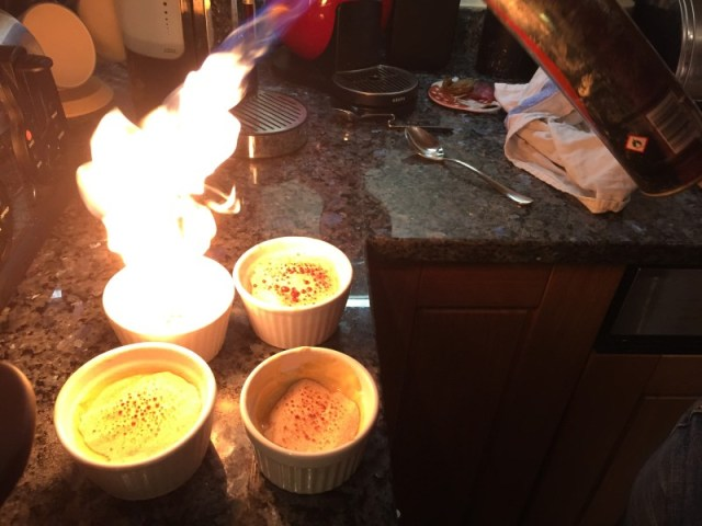 How NOT to blowtorch a crema catalana