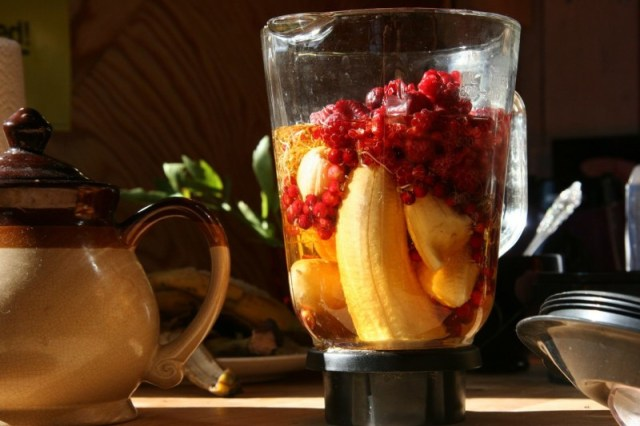Blended food is one option for HD sufferers