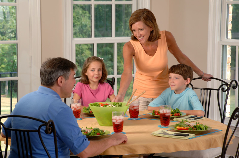 For HD sufferers, a simple meal with family can become a minefield of problems