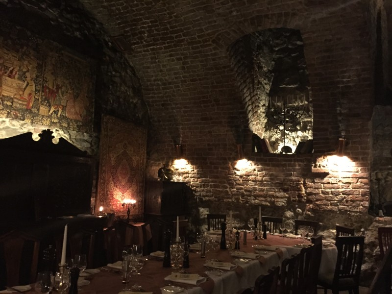 The former cellar that is now Cyrano de Bergerac in Krakow