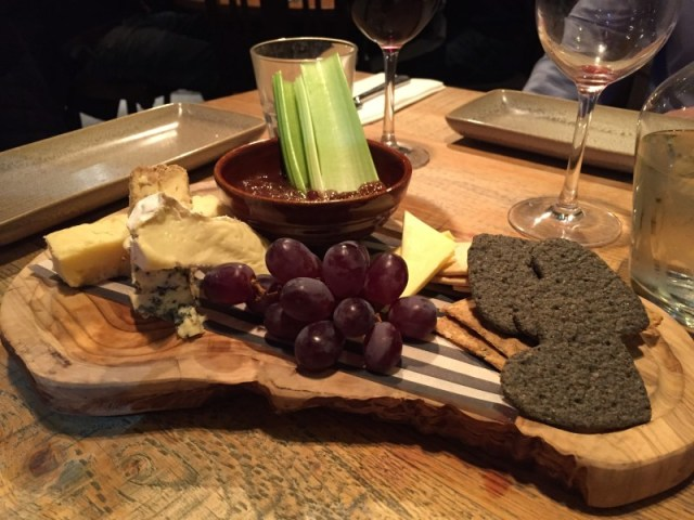 Cheeseboard at the King's Arms, Knowle