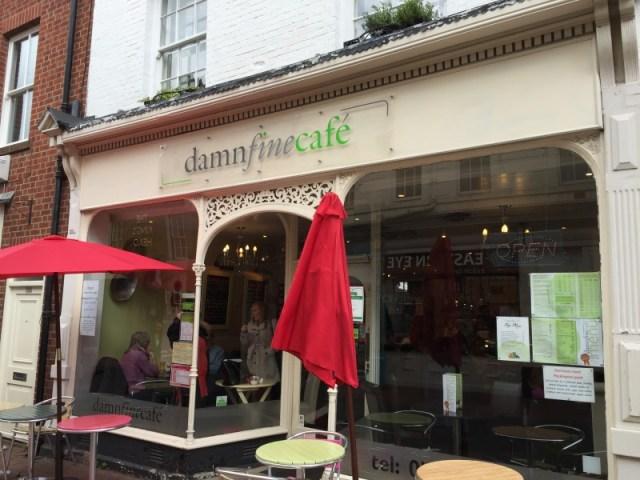 Damn Fine Cafe in Lichfield