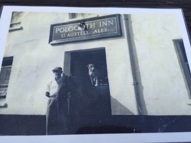 Traditional picture of the Polgooth Inn