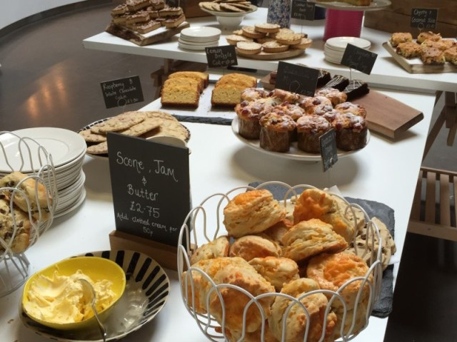 Cakes on offer at Gloucester Services
