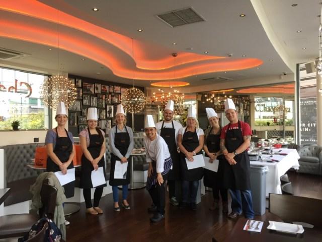Our Thai cooking class at Chaophraya, Birmingham