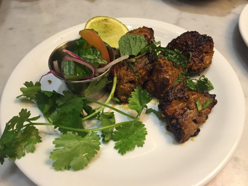 Lamb Boti Kebab at Dishoom, King's Cross, London