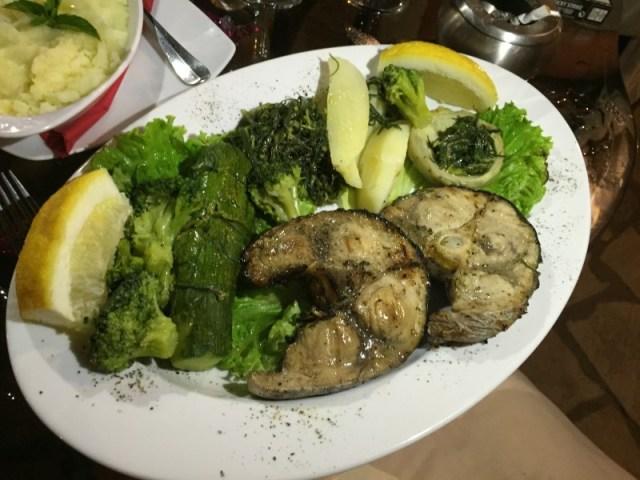 Swordfish at Archontiko, Corfu