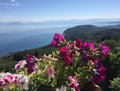 Landscape of Corfu