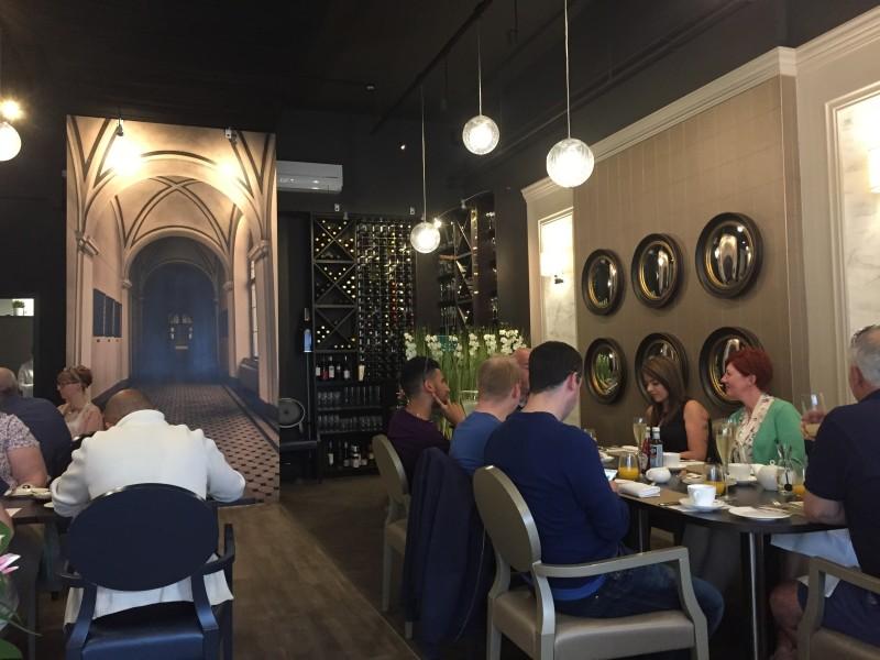 Inside Adam's, Birmingham for a Michelin star breakfast