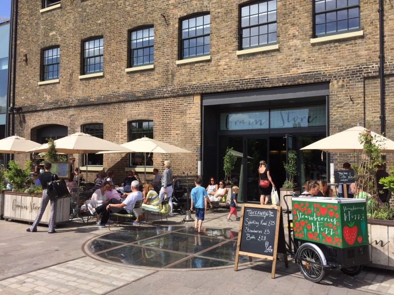 Grainstore in King's Cross, London