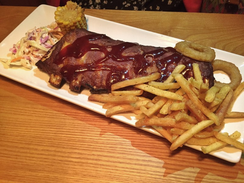 Ribs at the Griff House Beefeater, Nuneaton