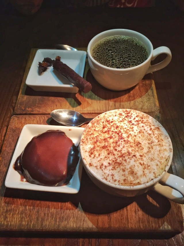 Coffee and dessert at the Stag at Offchurch